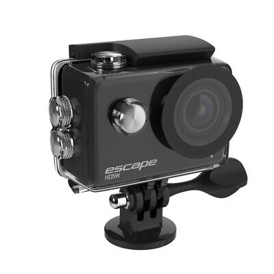 """Kitvision Escape Sports Cam HD 1080p WiFi Waterproof Action Camera 2"""" LED Black"""