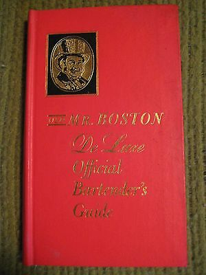 Vintage Original 1967 OLD MR BOSTON Deluxe Official Bartenders Guide Hard Cover