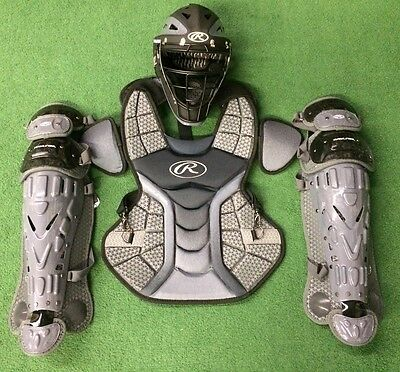 Rawlings Velo Youth Catcher's Gear Set - Black Graphite