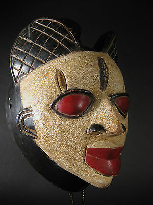 Spectacular Yoruba Face Mask Tribal Nigeria