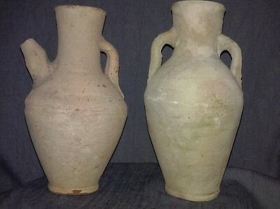 Antique Terracotta Wine Vessel jugs
