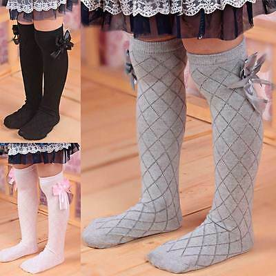 1 Pair Toddler Cotton New Lace Knee High Socks Kids Girl Baby 1 to 6 years
