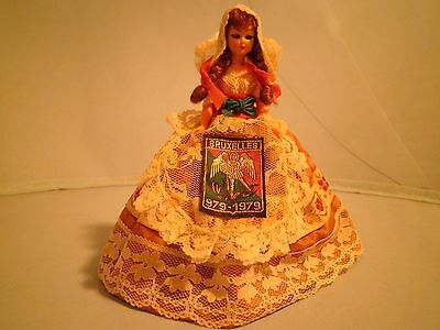 Vintage Bruxelles Doll in Costume