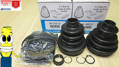 Complete Front Inner or Outer CV Boot Repair Kit for Polaris Sportsman 400 HO 4x4 2008-2010 All Balls