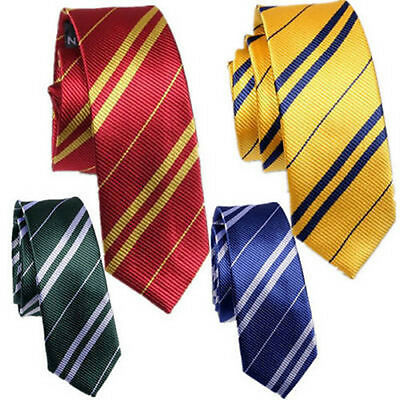 Harry Potter Tie Gryffindor/Slytherin/Ravenclaw/Hufflepuff Krawatte Cosplay