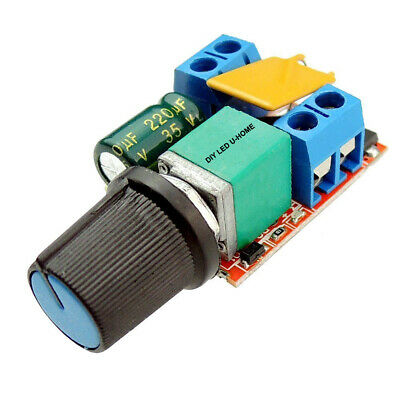 Ultra-compact High-Speed PWM LED Dimmer 3V - 35V 5A 90w Switching Frequency: 10K