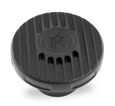 Performance Machine 0210-2024GRL-SMB - Black Ops Grill Fuel Cap 1996-2014 Harley