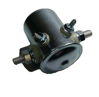 Universal Solenoid Tail Lift Winch Axles Continuous Rated 100A 24V Wood Snd12002