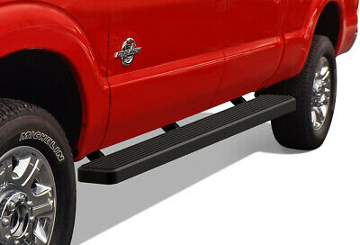 "Premium 6"" Black iBoard Running Boards 99-16 Ford F-250/F-350/F-450 SD Crew Cab"