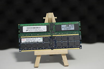8GB PC2-5300P DDR2 Dual Rank RAM ECC Registered Multiple Available