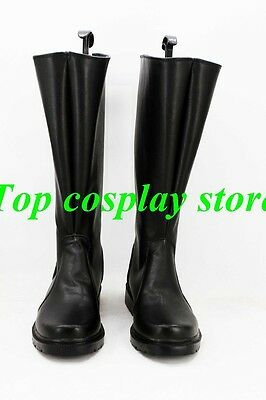 Star Wars Imperial Naval/Stormtrooper Officer Uniform Cosplay Shoes Black Boots