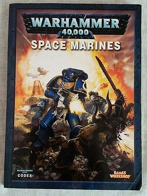 Warhammer 40K 5th Edition Codex Lot Space Marines and Tyranids - OOP