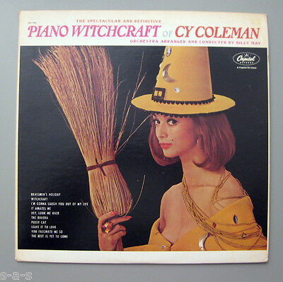Cy Coleman & Orchestra Billy May - Piano Witchcraft   Lp Capitol Reissue