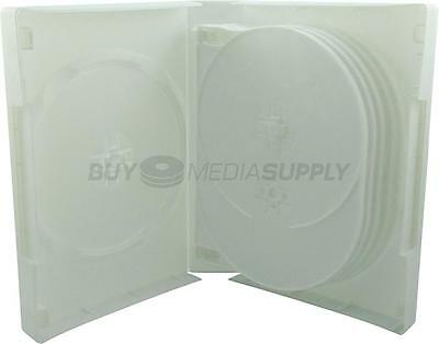 39mm White 12 Discs DVD Case - 40 Pack