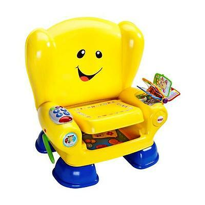 Fisher Price Laugh & Learn Smart Stages Chair Yellow 50+ Songs Tunes & Phrases