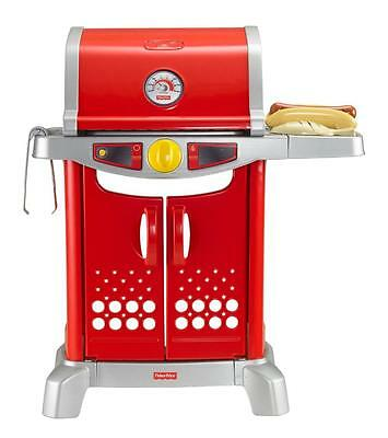 Fisher Price Grill Kids Toy BBQ With Hood - Role Play Fun With Little Cooks New