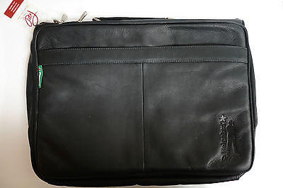 James Bond 007 Promo Sample Skyfall Piel Leather Carry/Shoulder Bag Heineken