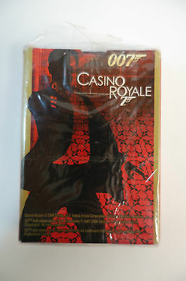 James Bond 007 Rare Casino Royale Poker Playing Cards Official Promotional NEW