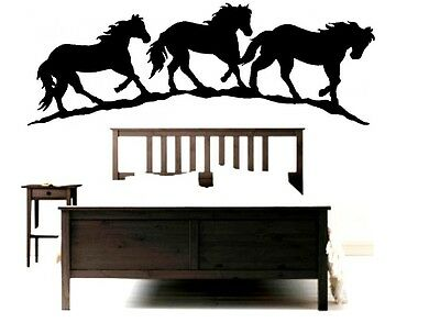 Horse Wall Decal 29 x 12 inch Equestrian Pony Home Improvement Indoor Pony