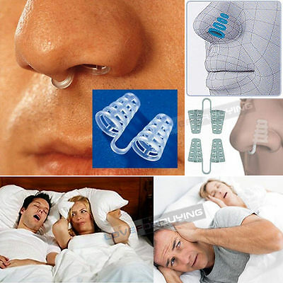 NASAL DILATORS Easy Stop Snoring Anti Snore Solution Apnea Support Aid Device