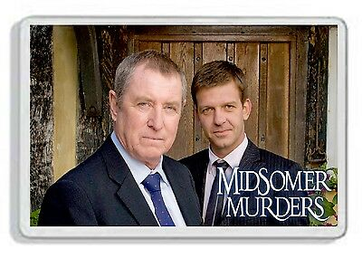Midsomer Murders Classic Tv Show And Dvd Fridge Magnet *great Gift* Uk Seller