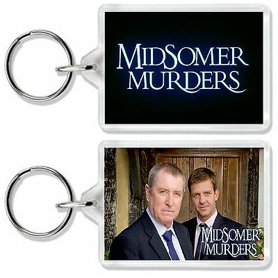 Midsomer Murders Classic Tv Show And Dvd Keyring *great Gift* Uk Seller