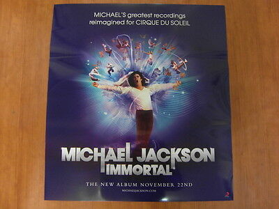 MICHAEL JACKSON - Immortal [OFFICIAL] POSTER *NEW*