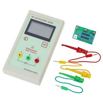 Portable MK-328 LCD Transistor Tester Diode Capacitance LCR ESR Meter YC QS41