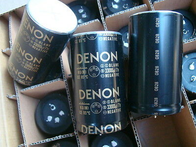 1PCS Japan ELNA DENON For Audio 71V 33000UF 50X90mm Hi-Fi Capacitor 85℃ #E250 YX