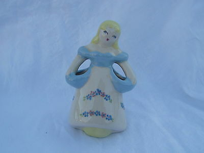 Vintage Figural Woman - Lady Pottery Planter