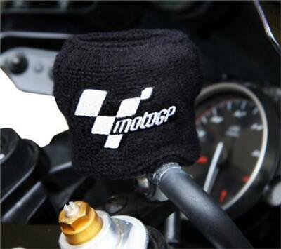 Brake Reservoir Sock Cover Motorcycle Black Fluid Shroud Protection MotoGP