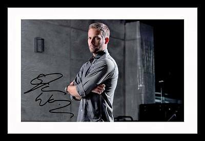 Paul Walker Autographed Signed & Framed Pp Poster Photo