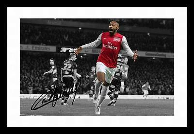 Thierry Henry - Arsenal Autographed Signed & Framed Pp Poster Photo