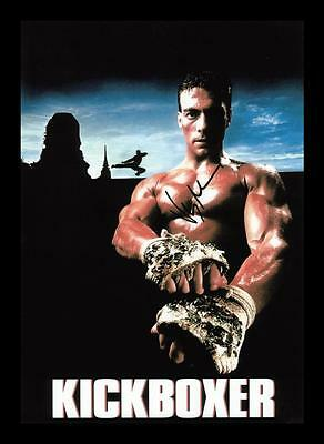 Jean-Claude Van Damme Autographed Signed & Framed Pp Poster Photo