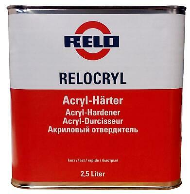 Relo MS Medium Solids Fast Hardener for 2k Clearcoats Car Lacquer 2:1