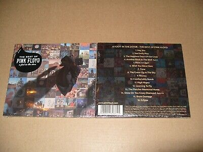 Pink Floyd The Best Of - A Foot In The Door cd Digipak 16 tracks 2011 New & Seal
