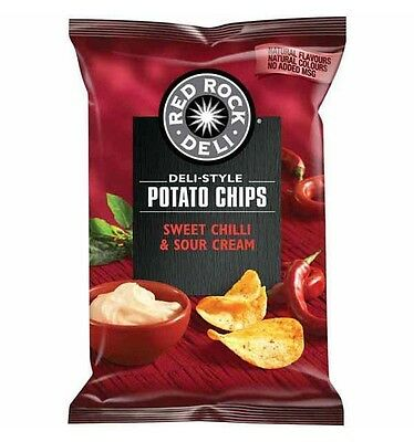 Red Rock Chip Sweet Chilli and Sour Cream 165g