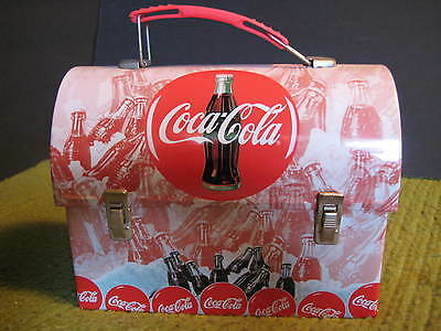 "2003 Vintage Original COCA COLA Lunch Box Tin 7""X3.5""X5.5"""