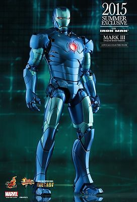 IRON MAN - Mark 3 Stealth Mode Version 1/6th Scale Action Figure (Hot Toys) #NEW