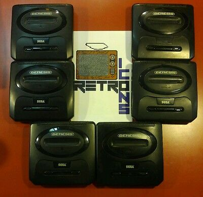 SEGA GENESIS Model 2 Console only with 2 FREE Games | Tested | SHIPS PRIORITY