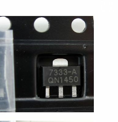 10PCS HT7333 HT7333-A  3.3V SOT-89 Low Power Consumption LDO Voltage Regulator