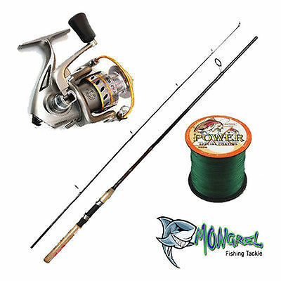 NEW DAIWA CROSSFIRE ROD AND GWMA-2000 REEL 180CM + 300 Meter Braid
