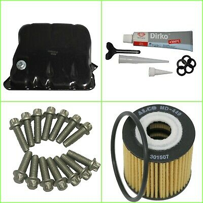 Smart Fortwo (450) Sump with Sump Plug, Gasket,Sump Bolts, Oil Filter