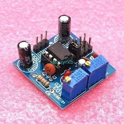 NE555 pulse frequency adjustable module Square/square wave signal generator