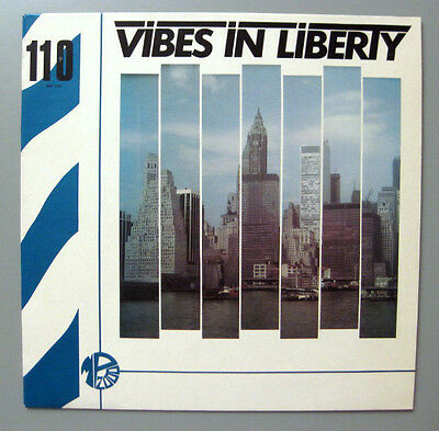 Vibes In Liberty - Frank Peters Plays Camille Sauvage  Lp Montparnasse  Library