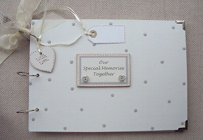 Personalised Anniversary.. A4 Size Guest Book/photo Album/scrapbook