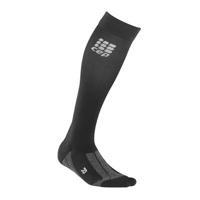 CEP Socks for Recovery Socken Run Damen Schwarz