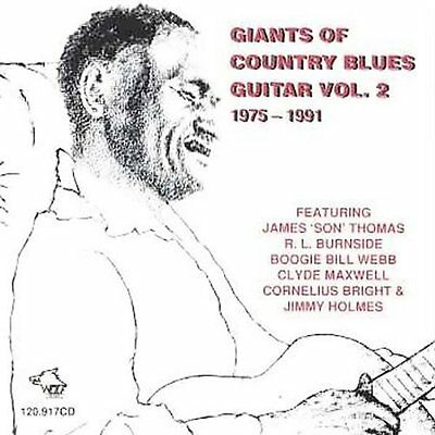 Giants Of Country Blues Guitar (2002, CD NEUF)