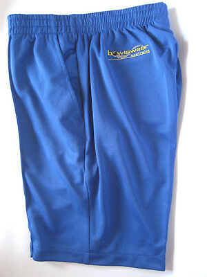 New! Bowlswear Men's Royal Blue Comfort Fit Shorts. Only $42 with Free Postage!