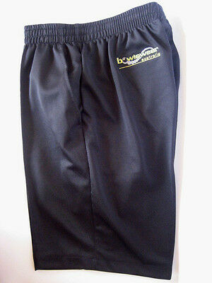 New! Bowlswear Men's Black Comfort Fit Shorts. Only $42 with Free Postage!